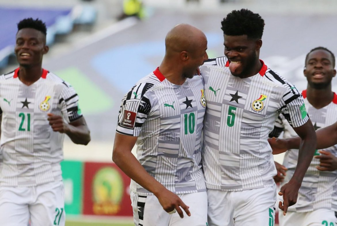 Thomas Partey gives Ghana a one-nil win over Zimbabwe