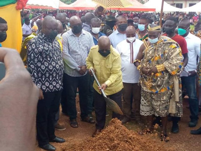 46.2-kilometre of roads to be completed in Central Region by 2023 – Akufo-Addo