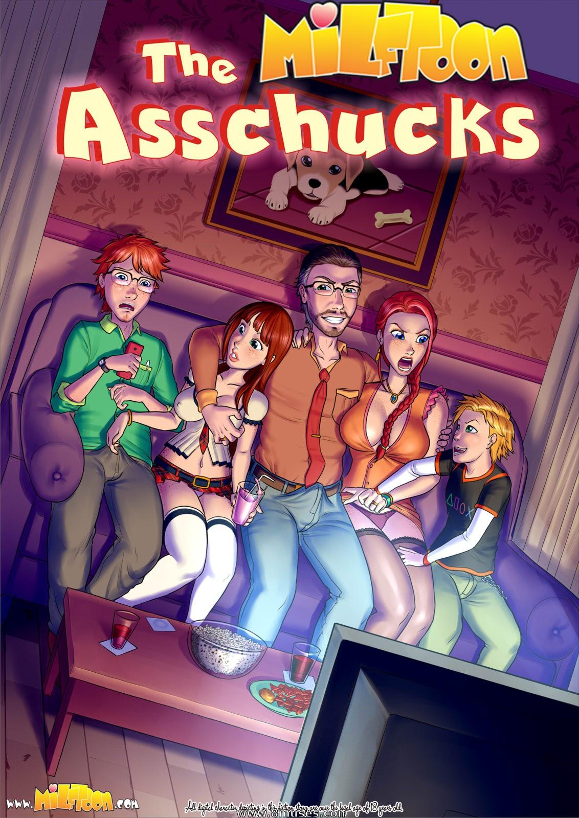 Asschucks 1 by Incest Milftoon
