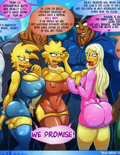 The Simpsons – Slut Night Out [Kogeikun]