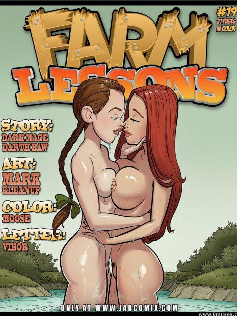Farm Lessons 19 [Jab Comix]