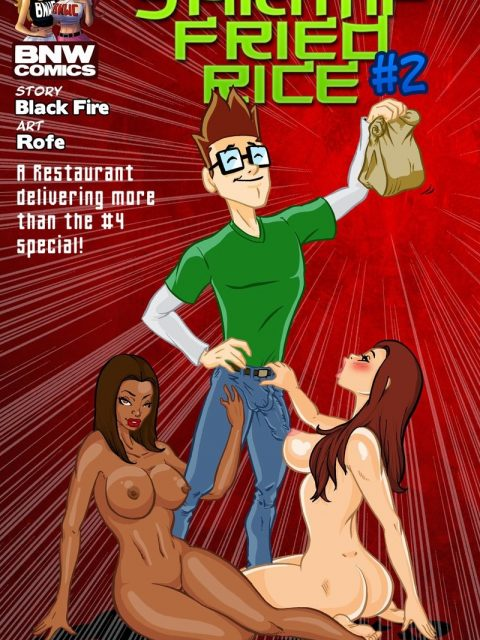 Shrimp Fried Rice 2 – BlacknWhiteComics