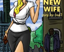 The Homeless Man's New Wife – illustrated Interracial