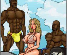 Kaos Comics – The Bikini Conspiracy – Full sized pages
