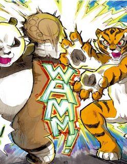 Better Late than Never 02 – Kung Fu Panda by DaiGaijin
