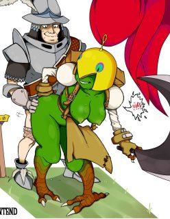 Queen Brahne's Steiner (Final Fantasy IX) – B-Intend