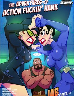 Comix – The Adventures of Action Fuckin Hank 02