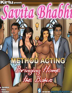 Savita Bhabhi EP 107 – Method Acting