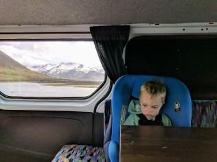 Camper van trip around Iceland