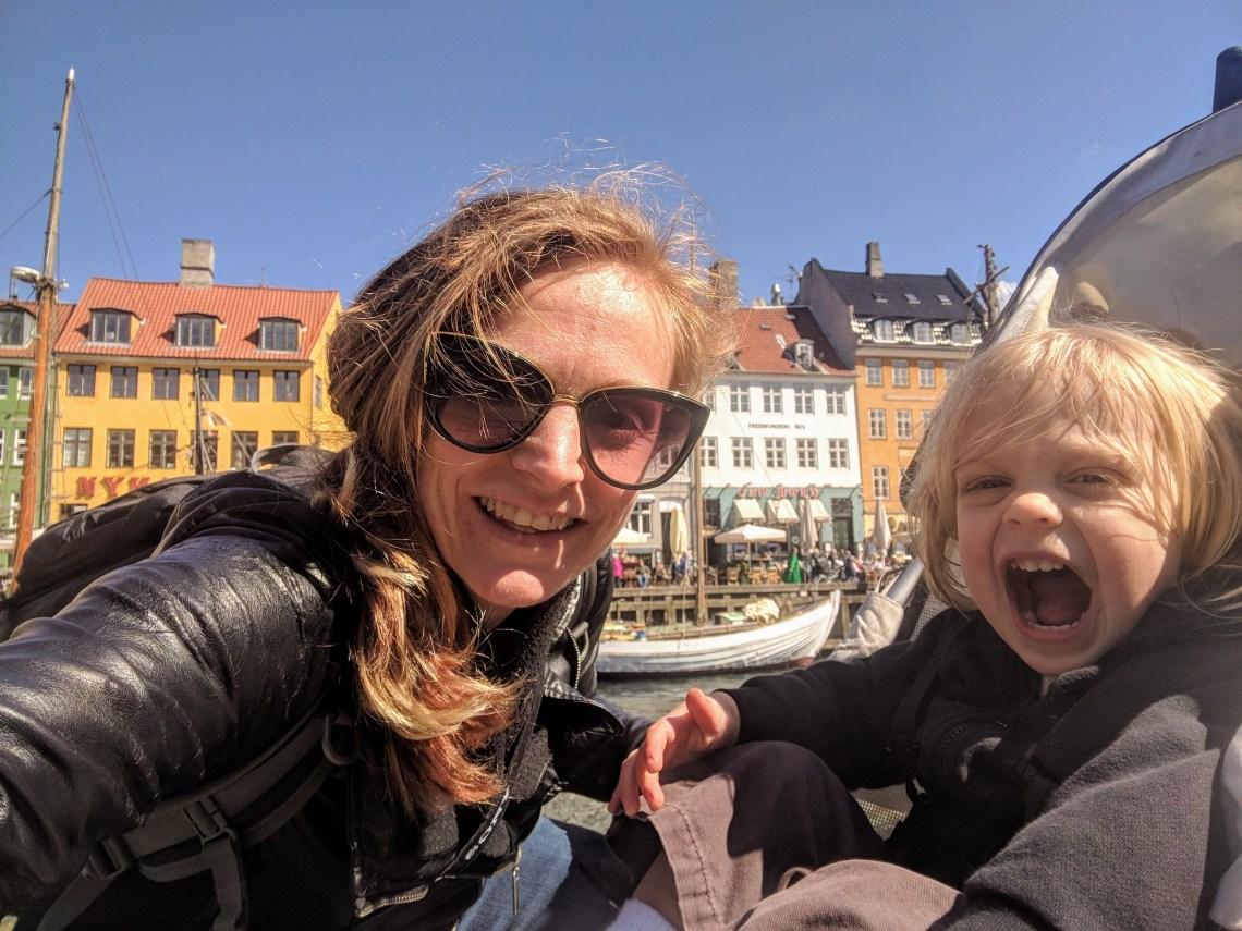 The Nyhavn in Copenhagen