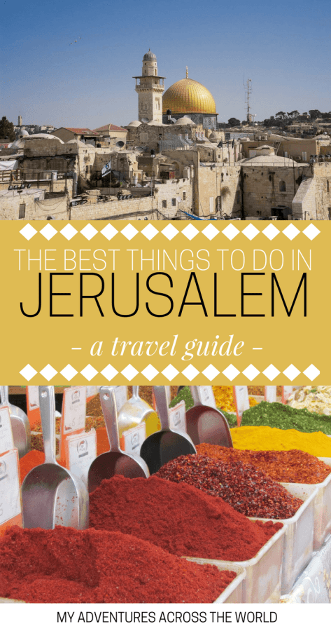 Discover the most amazing things to do in Jerusalem - via @clautavani
