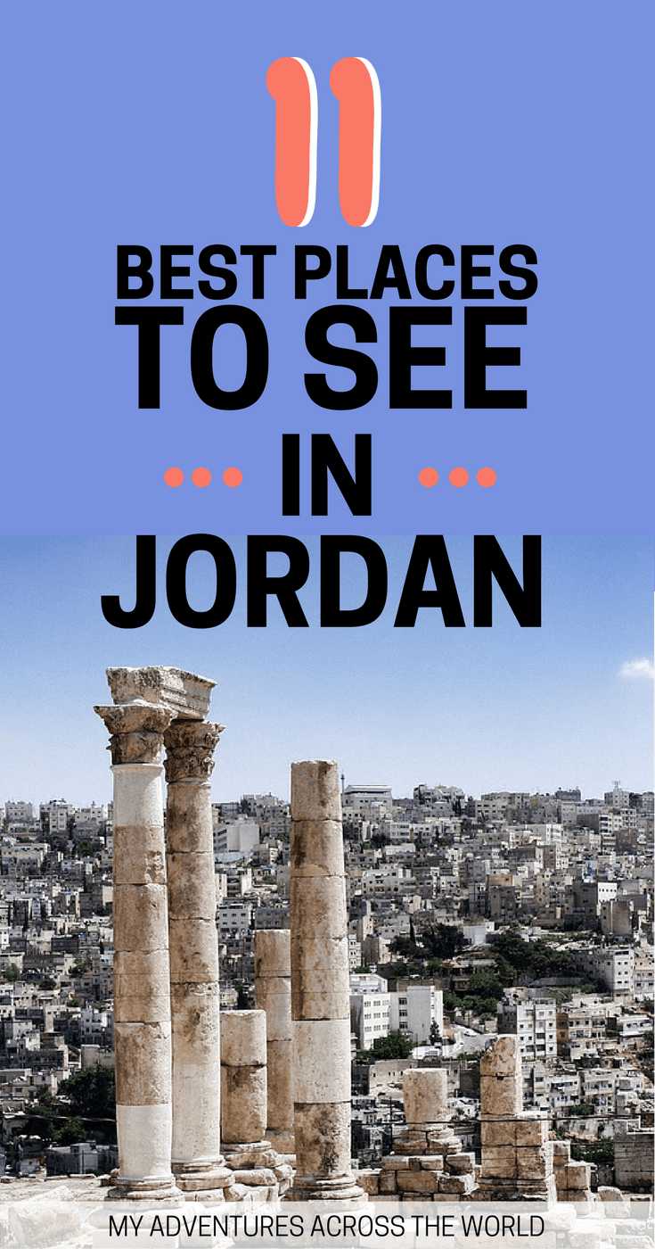 Find out the coolest places to visit in Jordan - via @clautavani