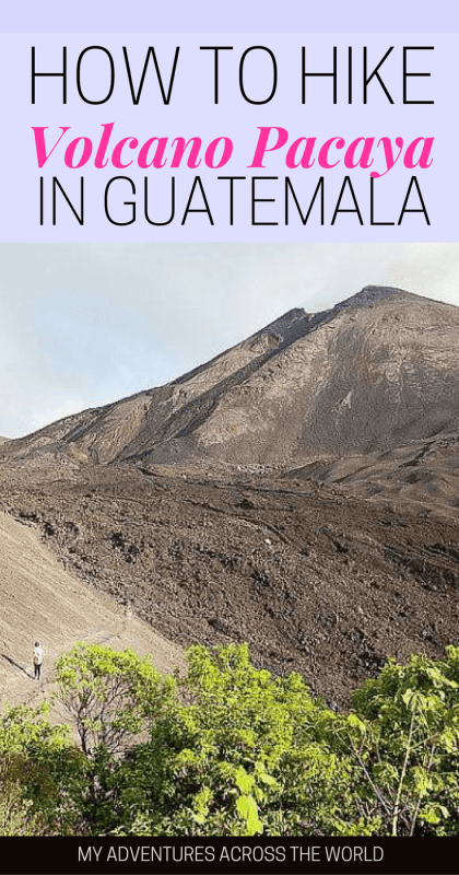 Learn what to expect when hiking volcano Pacaya, Guatemala - via @clautavani