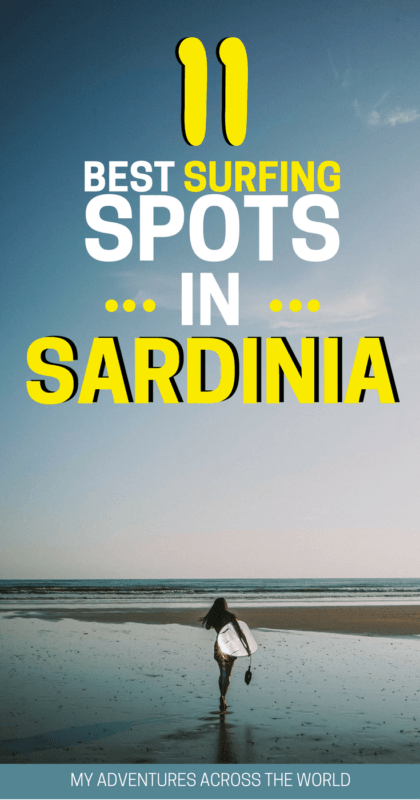 Discover the best surfing spots in Sardinia - via @clautavani