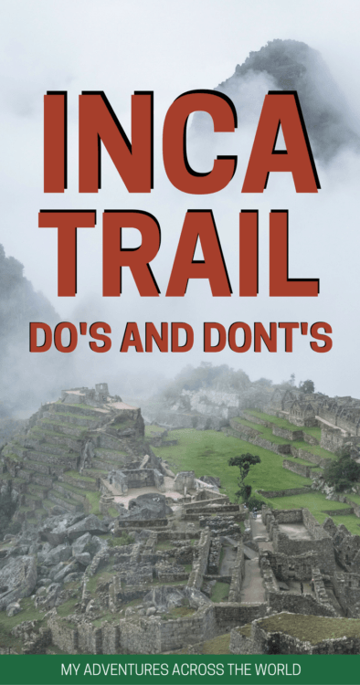 Find out some tips on how to walk the Inca Trail to Machu Picchu - via @clautavani