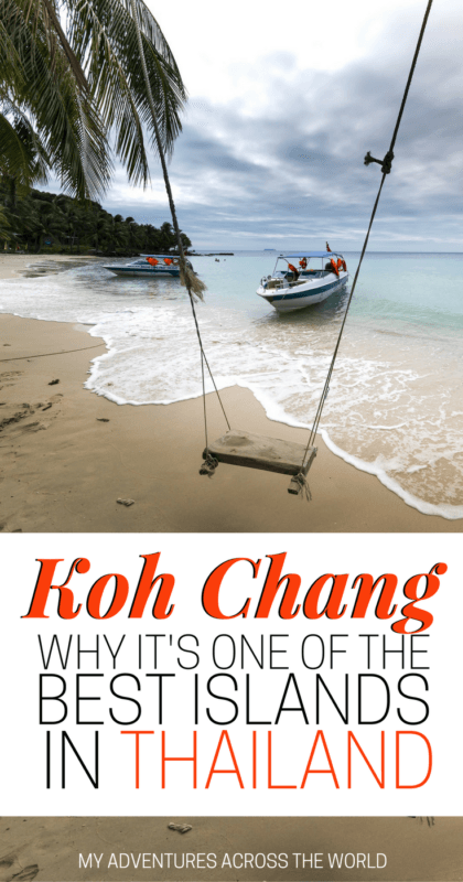 Find out why Koh Chang is one of the best islands in Thailand - via   6568c89e8