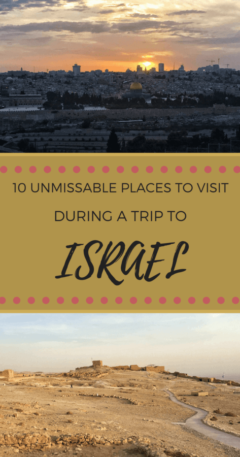 Find out what do to during a trip to Israel - via @clautavani