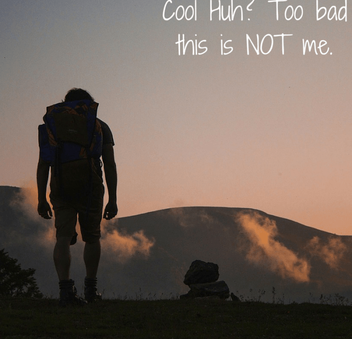 How to be an Unsuccessful Backpacker