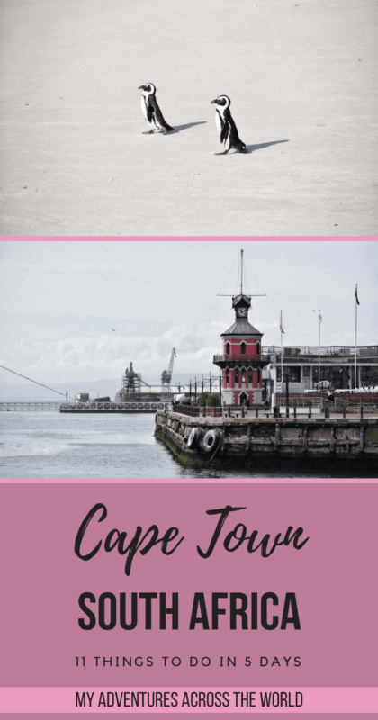 Discover 11 Amazing Things To Do In Cape Town In Just 5 Days - via @clautavani