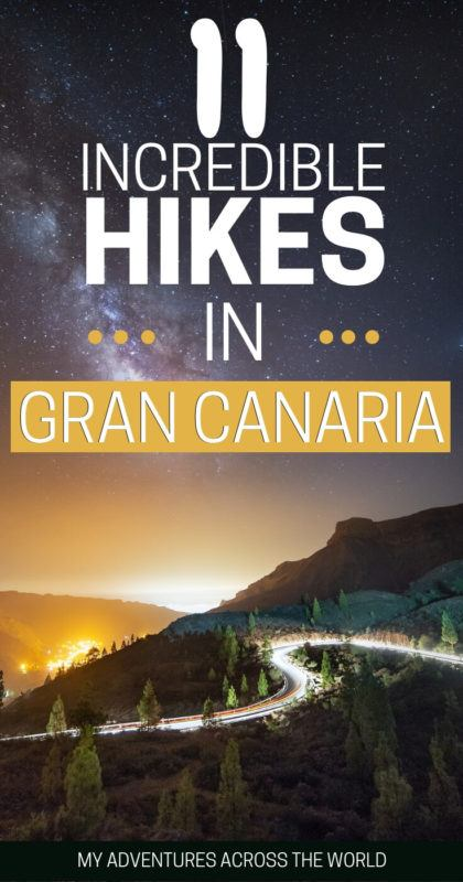 There are some incredible hikes in Gran Canaria. Read this post to discover 11 of them and to get some guidance on how to make the most of the island | Gran Canaria things to do | #grancanaria via @clautavani