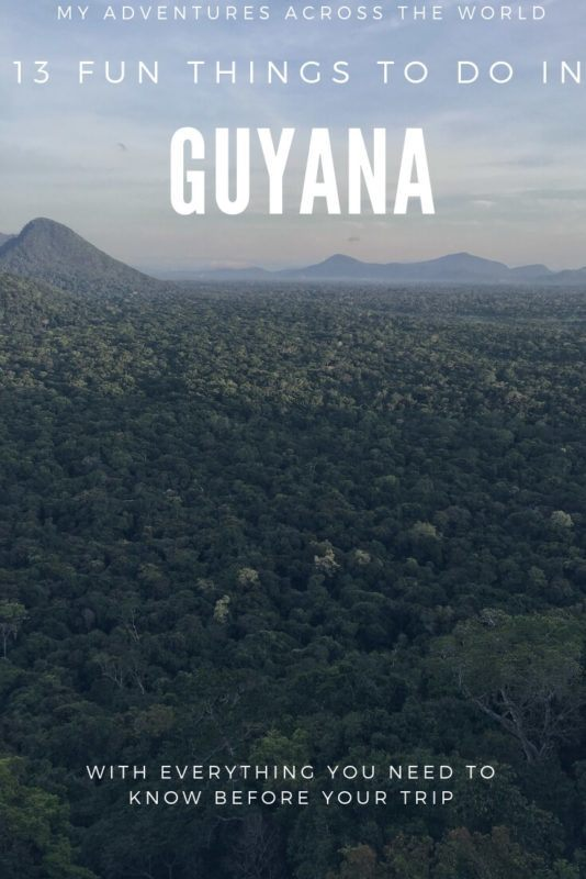 Discover all there is to do in Guyana and how to get prepared for Guyana travel | Guyanese food | #southamerica #travelblogger via @clautavani