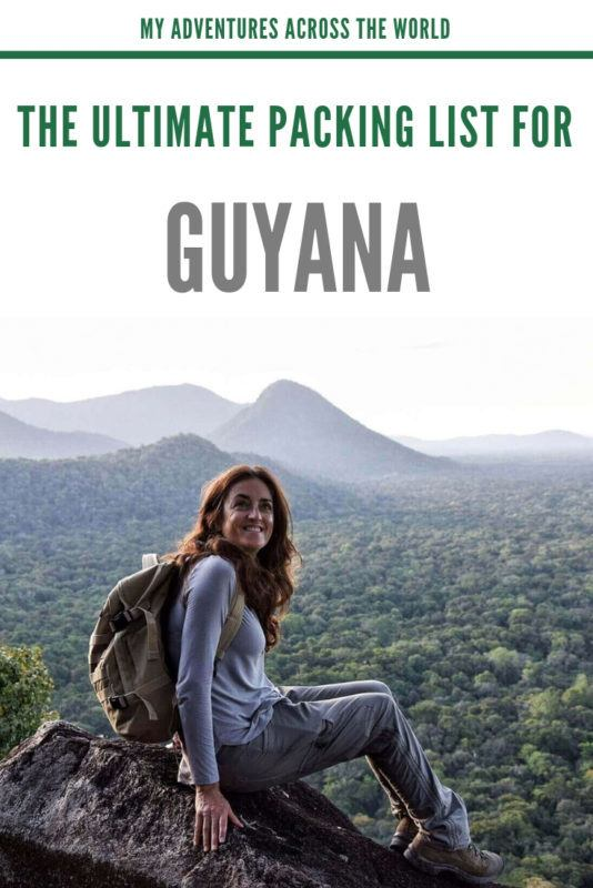 Find out all the jungle clothes you should back for your trip to Guyana - via @clautavani