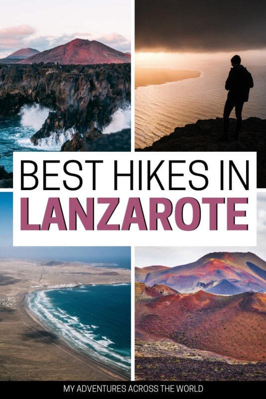 Find out what are the best places for hiking in Lanzarote - via @clautavani
