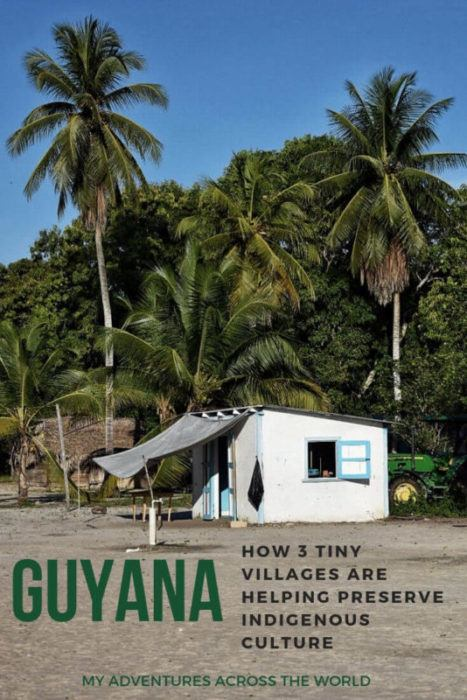 Read about culture in Guyana and discover how this is an incredible mix of its colonial past and its indigenous people. Find out how three tiny villages are working wonders to preserve it | Guyana travel #discoverguyana #guyananice via @clautavani