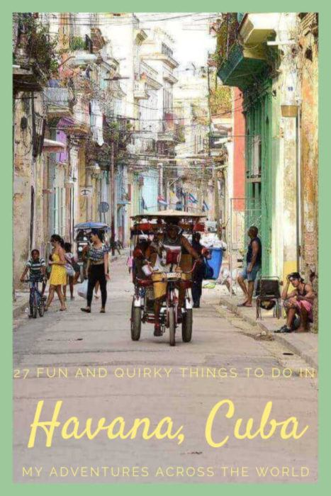 Discover the 27 most fun things to do in Havana, Cuba - via @clautavani