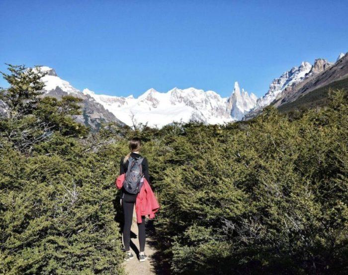 hiking to Laguna Torre