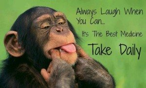Always laugh when you can . . . its the best medicine. Take Daily