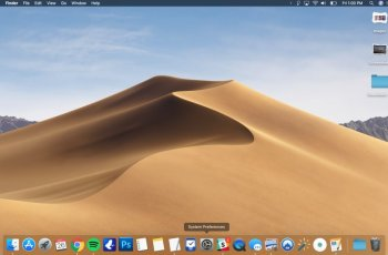 Fix problem on MacOS Mojave