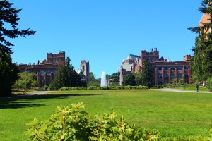 Photo from Campus Tour of University of Washington