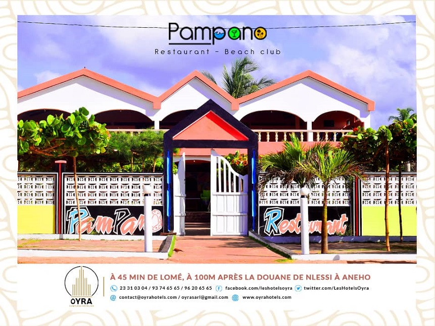 Togo/ Pampano Restaurant-Beach club lance son premier Buffet Pampano!
