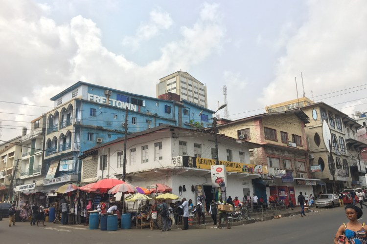 Where do diaspora hangout in Freetown?