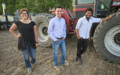 Purdue University Ag Students Get Into the Field with MyAgData