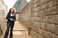 """Standing next to what Bingham called """"the most beautiful wall."""""""