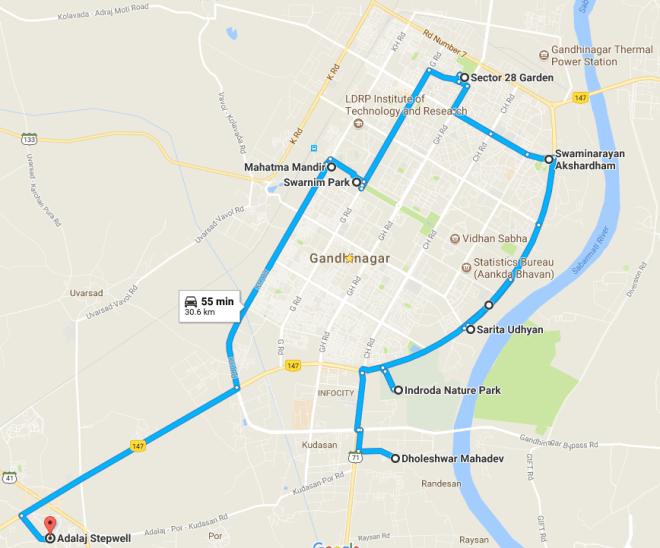 Gandhinagar Places