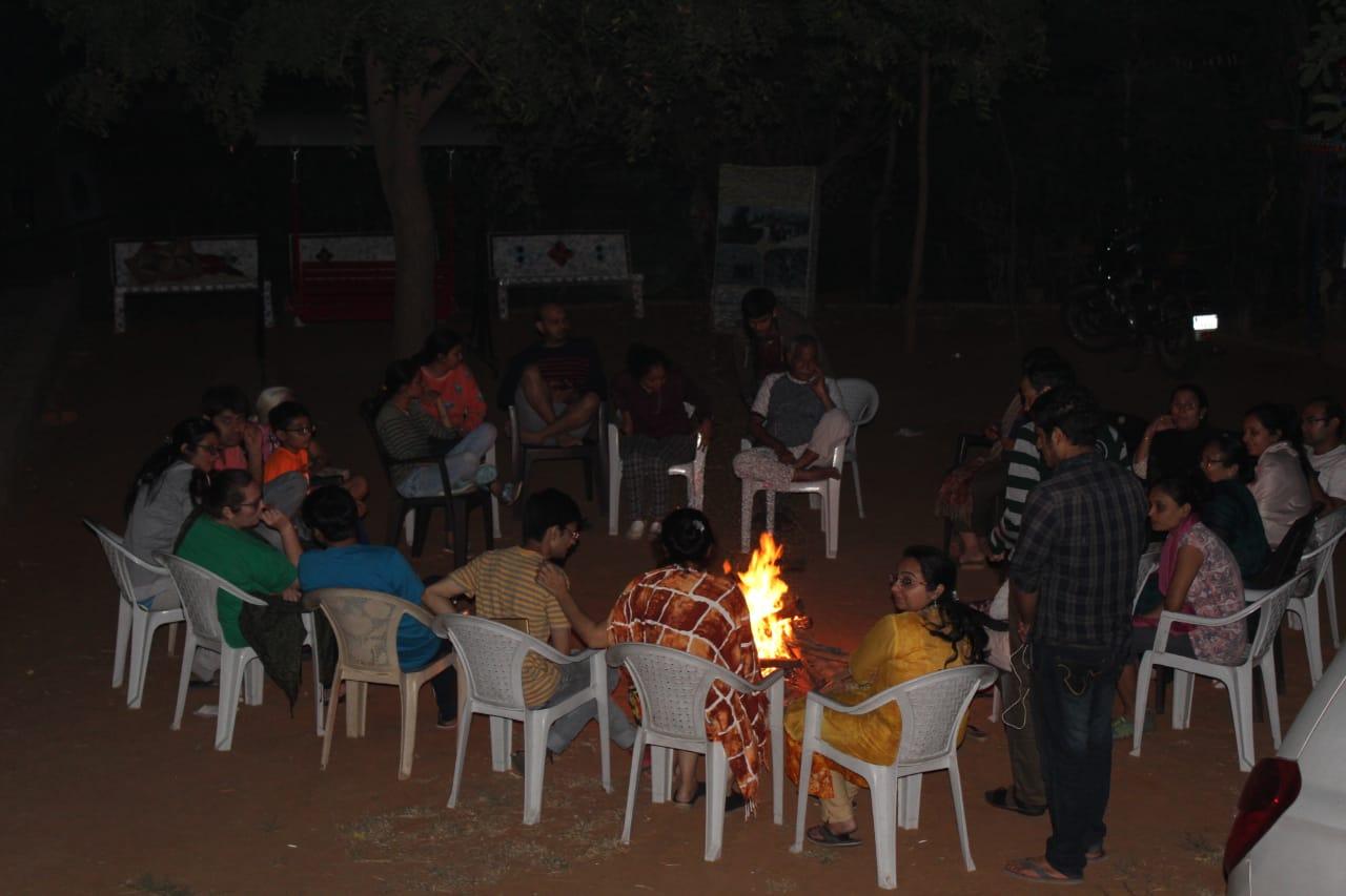 Bornfire at Bakor Camp site