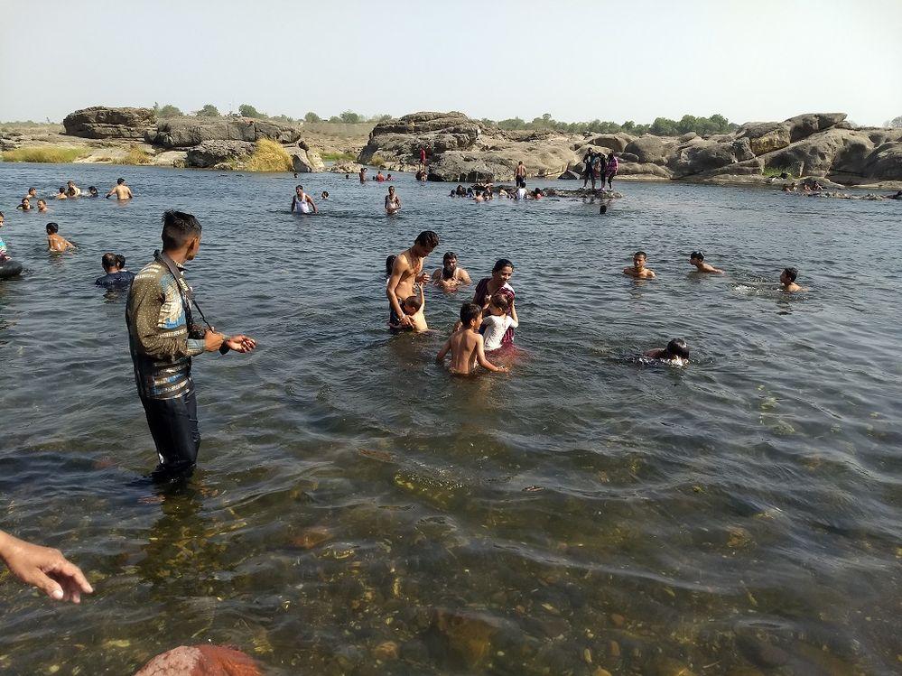 Galteshwar - Mahi River Bath