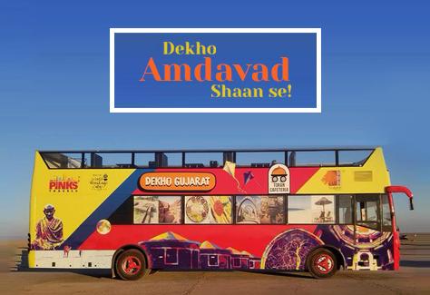 Dekho Amdavad Open Terrace Bus