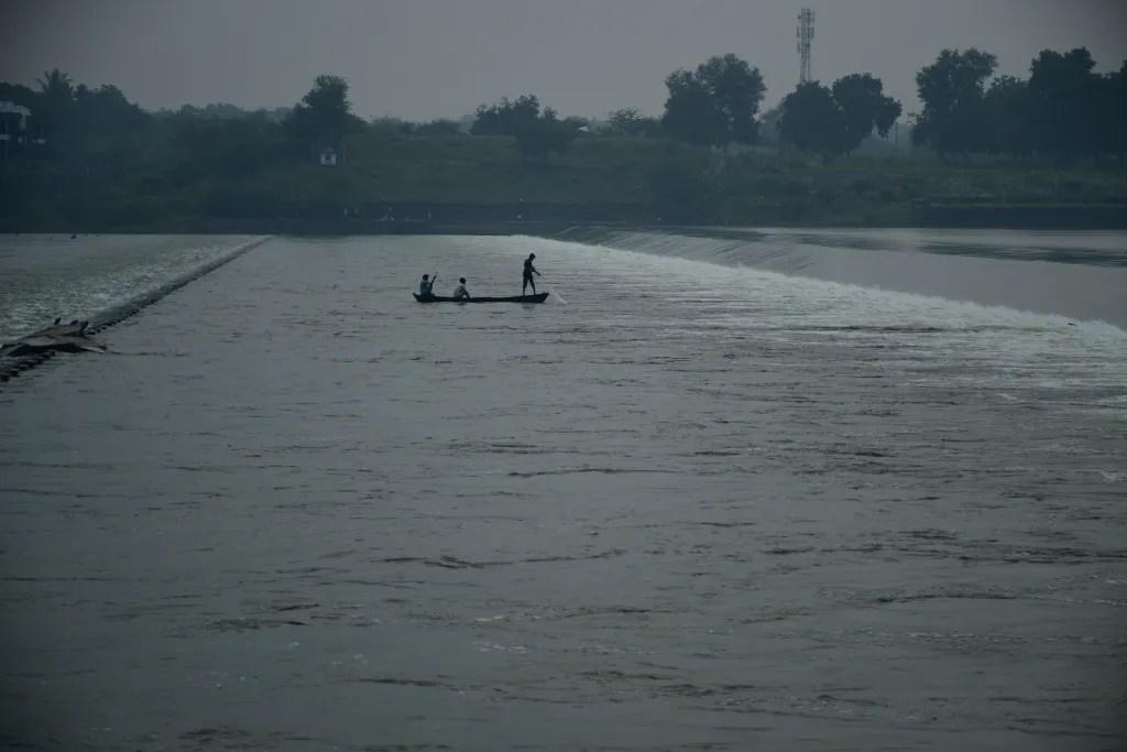 Boat in Sindhrot Checkdam