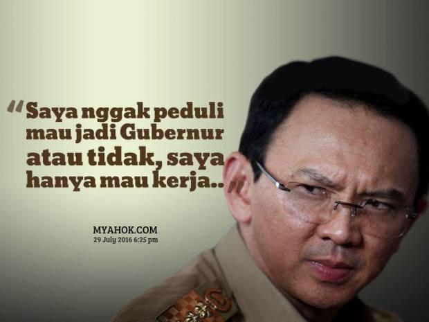 Gubernur seperti AHOK