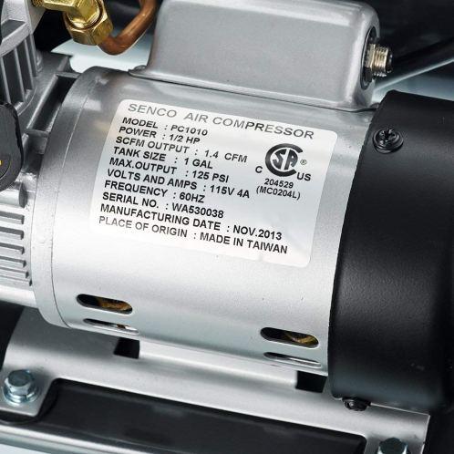 Senco PC1010 specifications