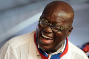 An elated President-elect Akufo Addo