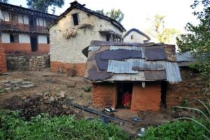 Menstruating girls and women in western Nepal