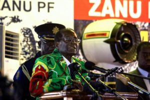 President Robert Mugabe called for unity in his party.