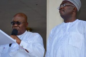 President-elect Akufo-Addo with vice President-elect Dr Bawumia