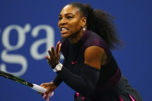 Serena Williams at the 2016 US Open Getty Images