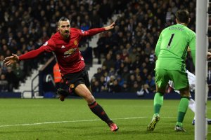 Zlatan Ibrahimovic has scored 16 goals for Manchester United this season